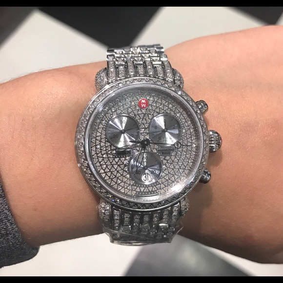 b00b6bd27533 Sale 🛍 Michele CSX 36 diamond watch